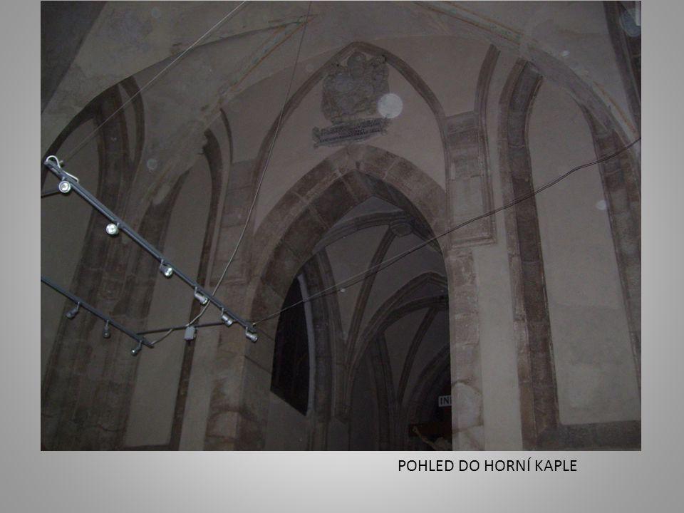 POHLED DO HORNÍ KAPLE