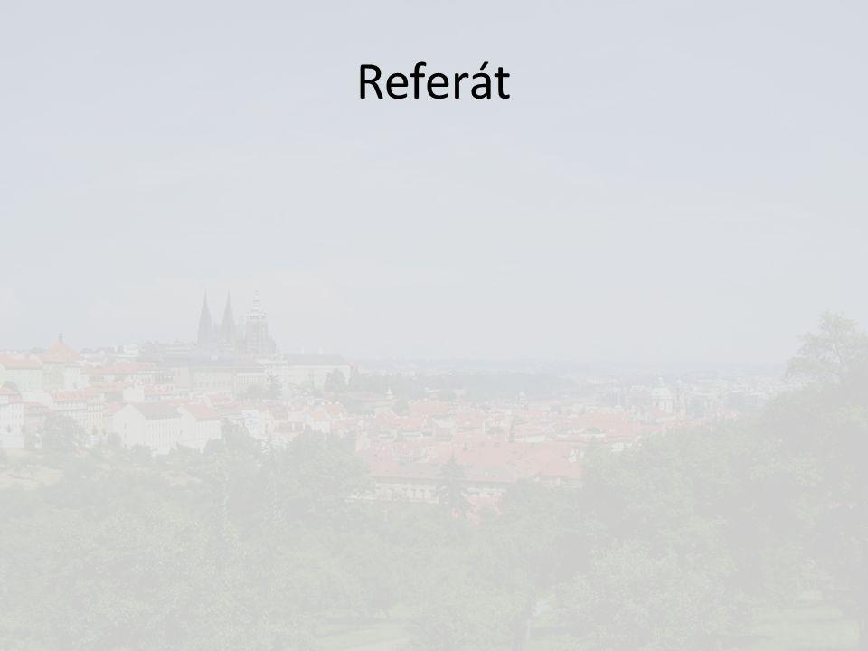 Referát