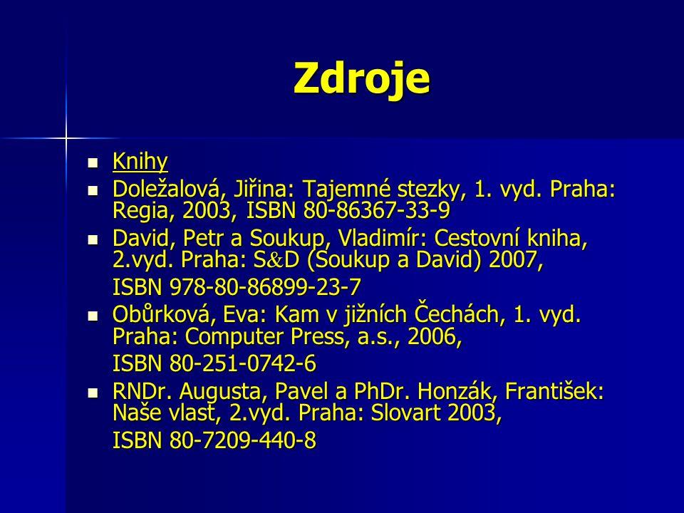 Zdroje Knihy Knihy Doležalová, Jiřina: Tajemné stezky, 1.