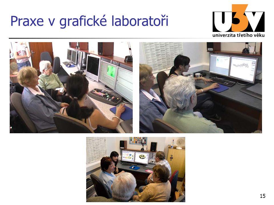 15 Praxe v grafické laboratoři