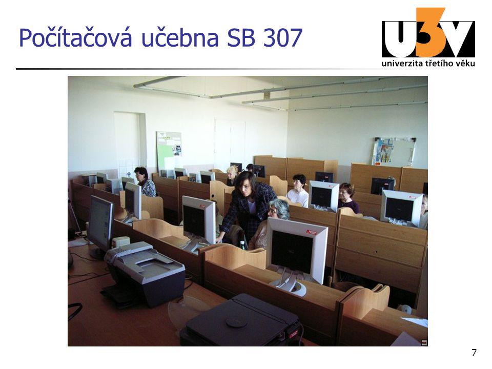 7 Počítačová učebna SB 307
