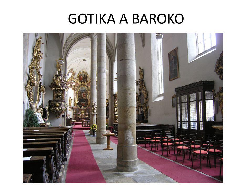 GOTIKA A BAROKO