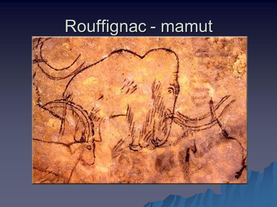 Rouffignac - mamut