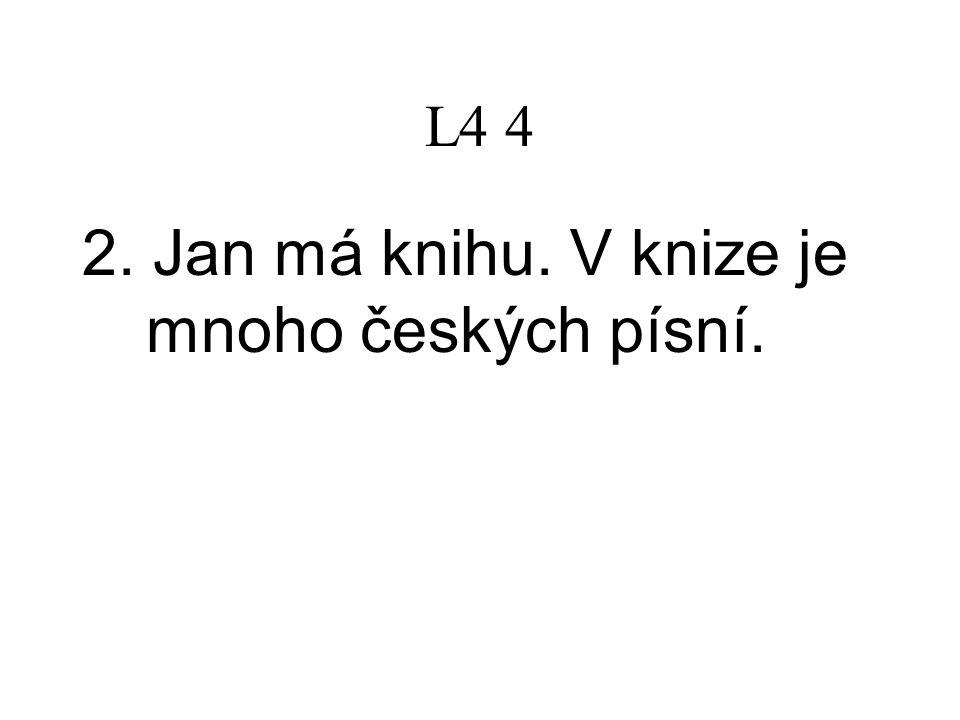 L4 5 6.Jaké chyby děláte. Gramatické. 7. Jaký máte problém.