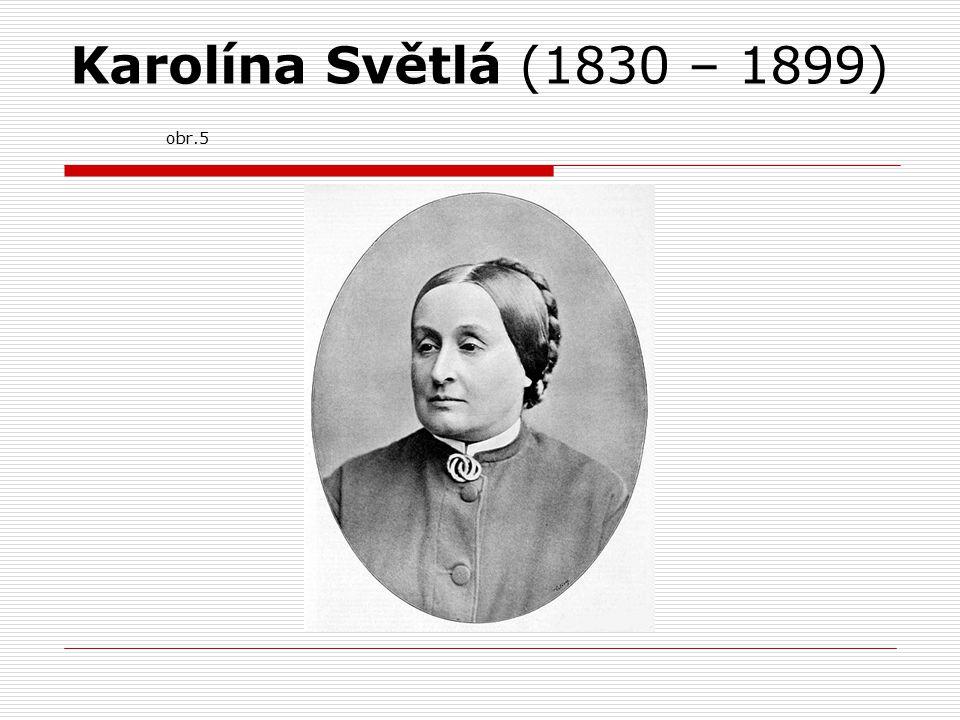 Karolína Světlá (1830 – 1899) obr.5