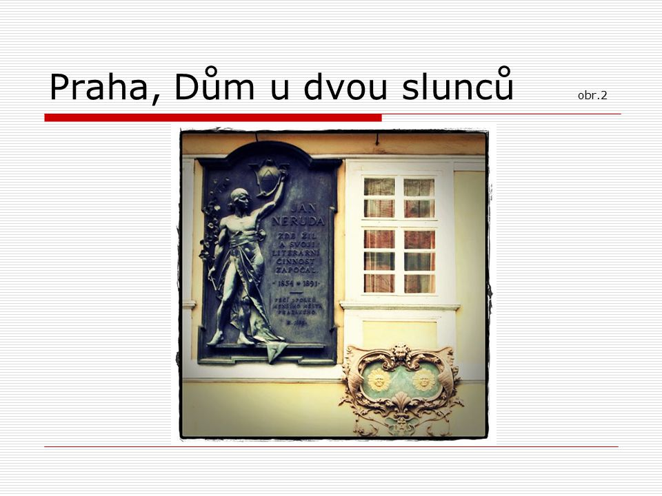 Praha, Dům u dvou slunců obr.2