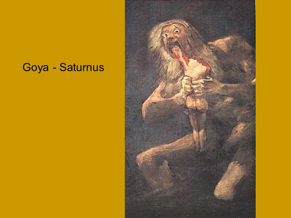 Goya - Saturnus