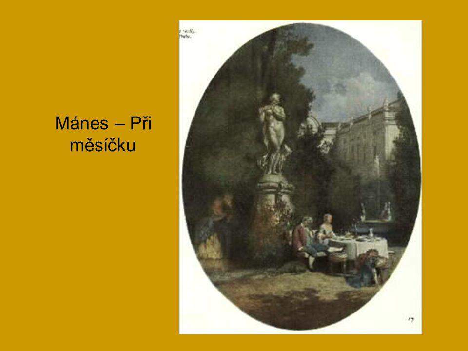 Mánes – Při měsíčku