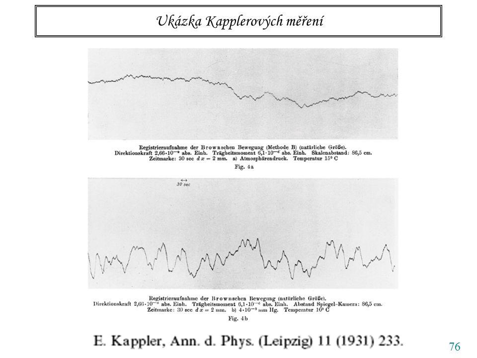 76 Ukázka Kapplerových měření