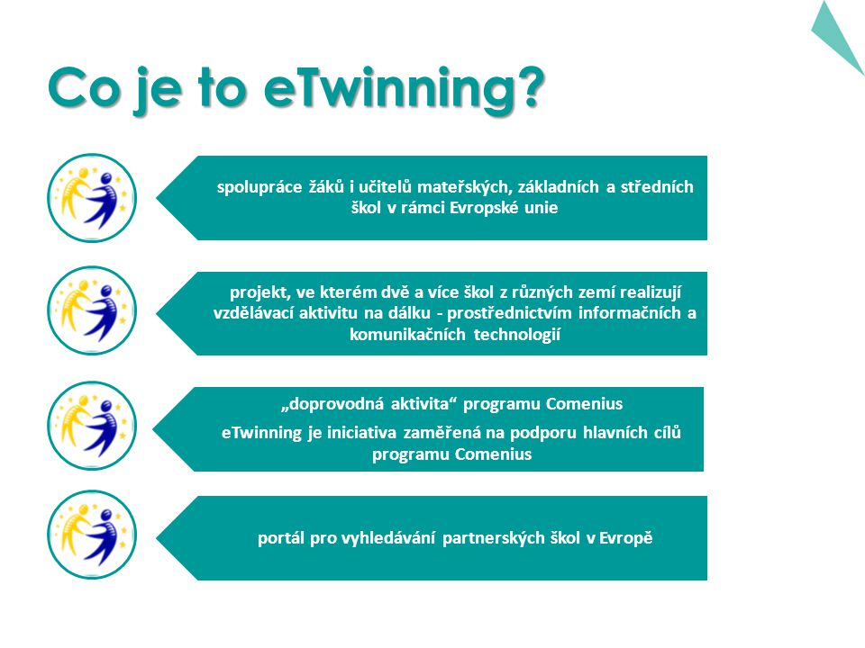Proč eTwinning i Comenius.