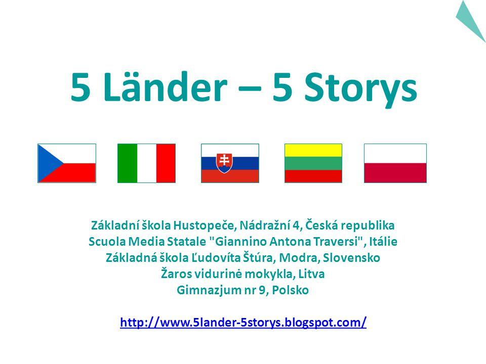 Popis projektu Během školní roku 2006/2007 jsme společně napsali 5 příběhů na pokračování.