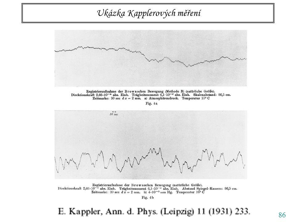 86 Ukázka Kapplerových měření