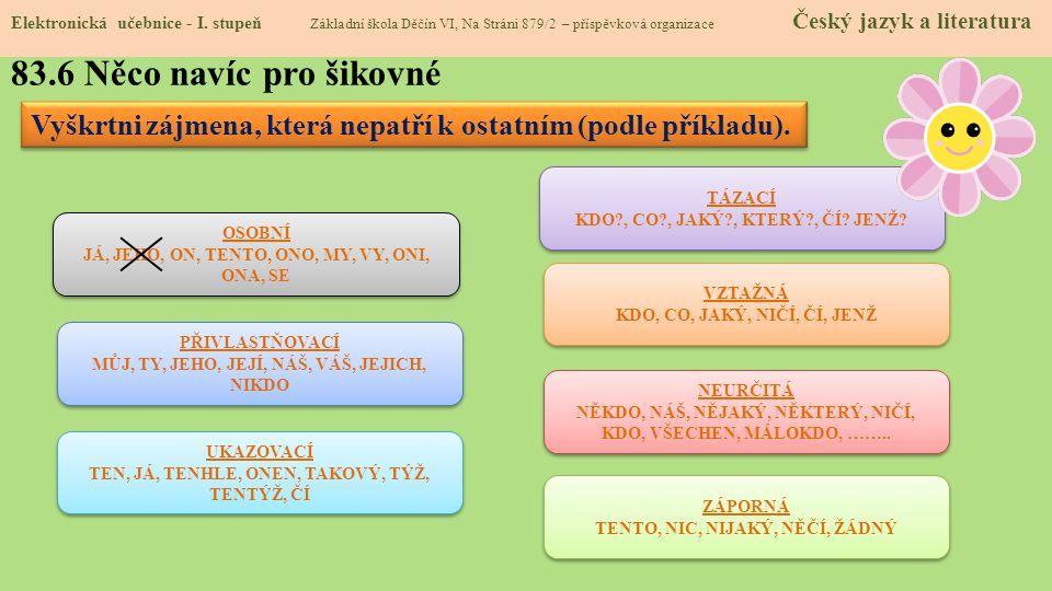 83.7 CLIL Elektronická učebnice - I.