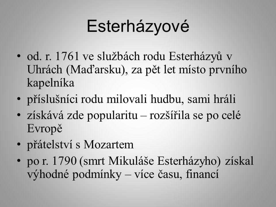 Esterházyové od.r.
