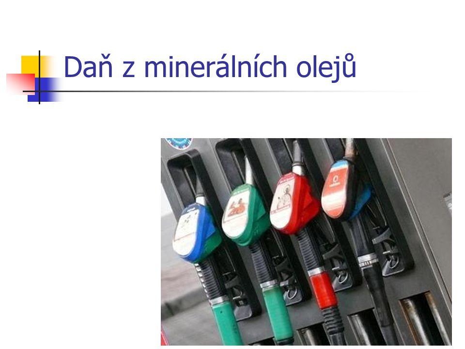 Daň z minerálních olejů