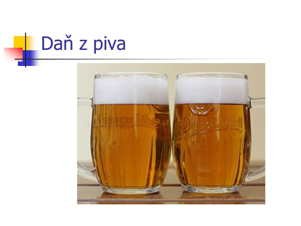 Daň z piva