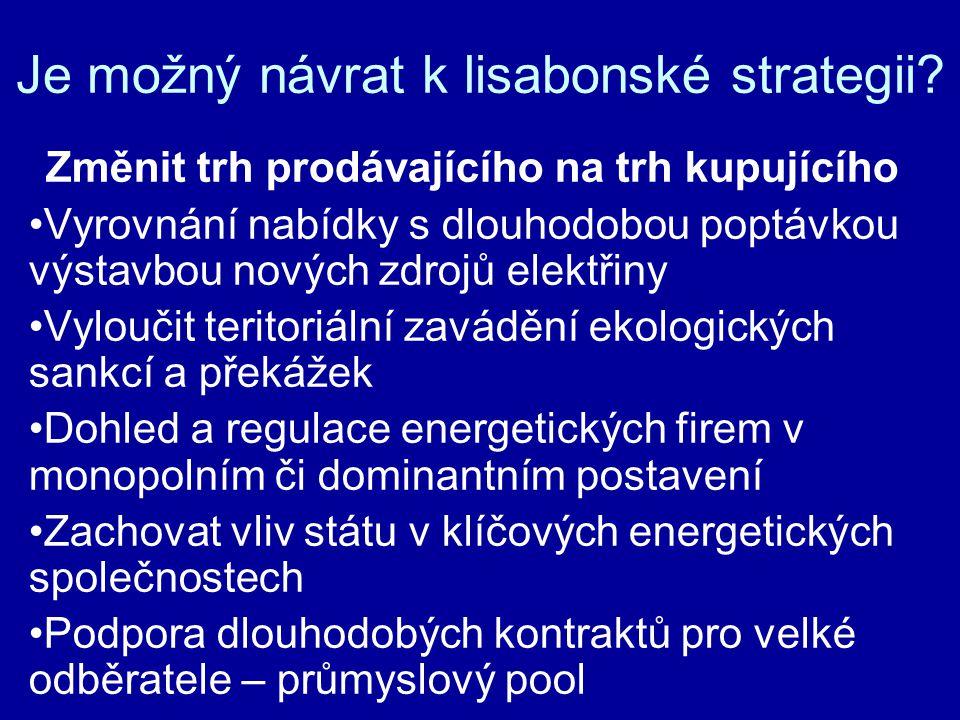 Je možný návrat k lisabonské strategii.