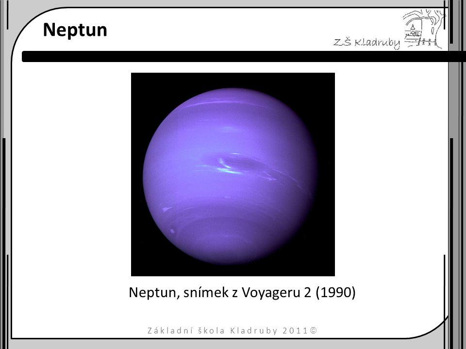 Základní škola Kladruby 2011  Neptun Neptun, snímek z Voyageru 2 (1990)