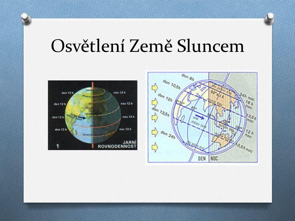 Osvětlení Země Sluncem