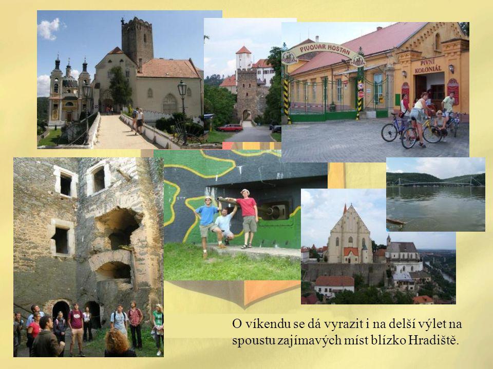 O víkendu se dá vyrazit i na delší výlet na spoustu zajímavých míst blízko Hradiště.
