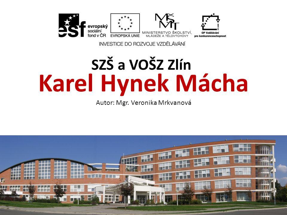 Název sadyKarel Hynek Mácha Předmět Český jazyk a literatura Anotace Výukový materiál seznamuje žáky s romantickým básníkem Karlem Hynkem Máchou.