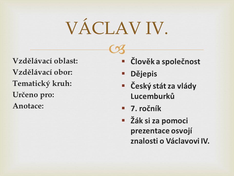 Český stát na přelomu 14. a 15. století