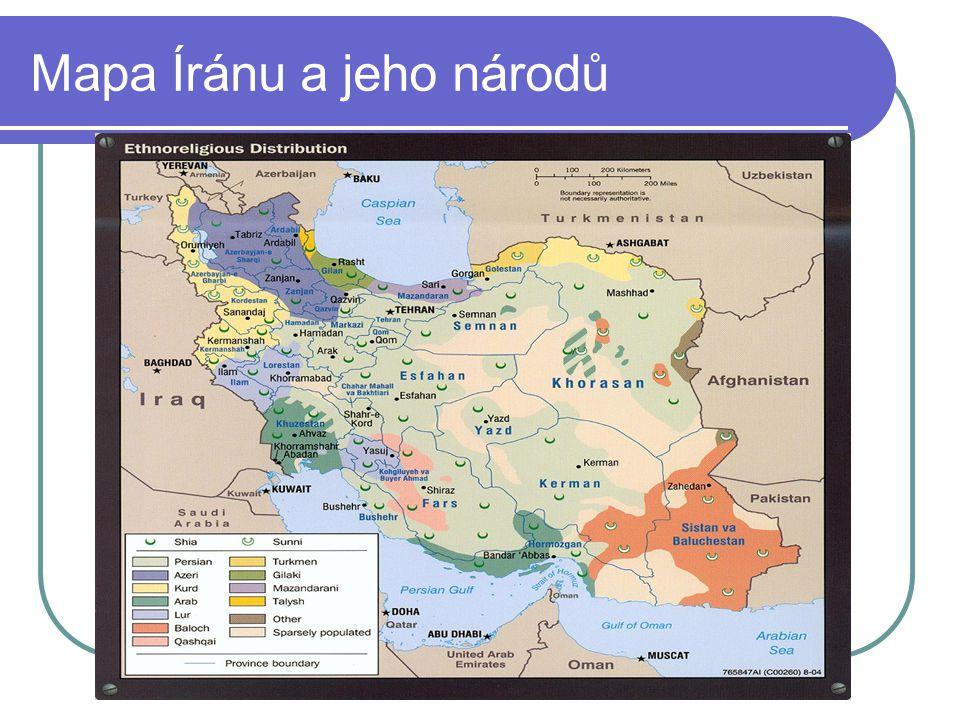 Írán جمهوری اسلامی ایران název: Íránská islámská republika rozloha: 1 648 195 km² (17.