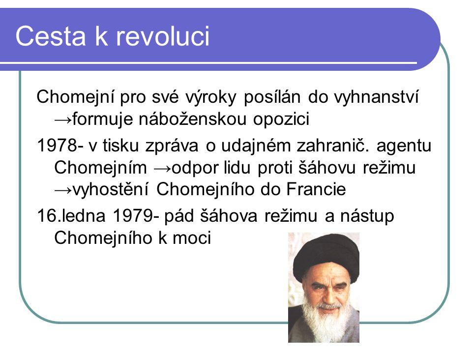 Útěk a návrat Chomejního