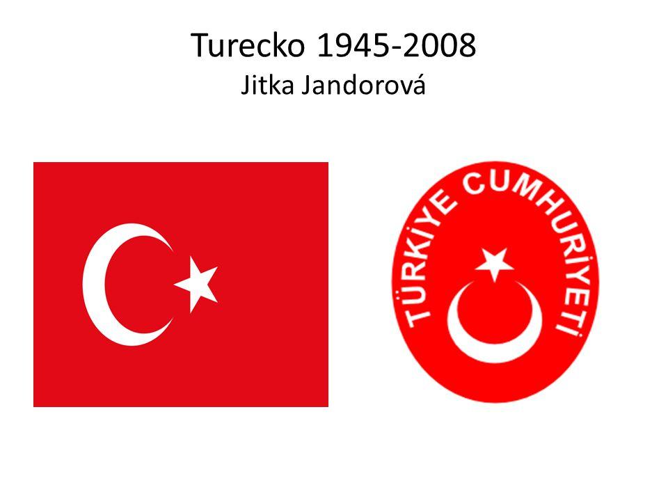 Poloha Turecka