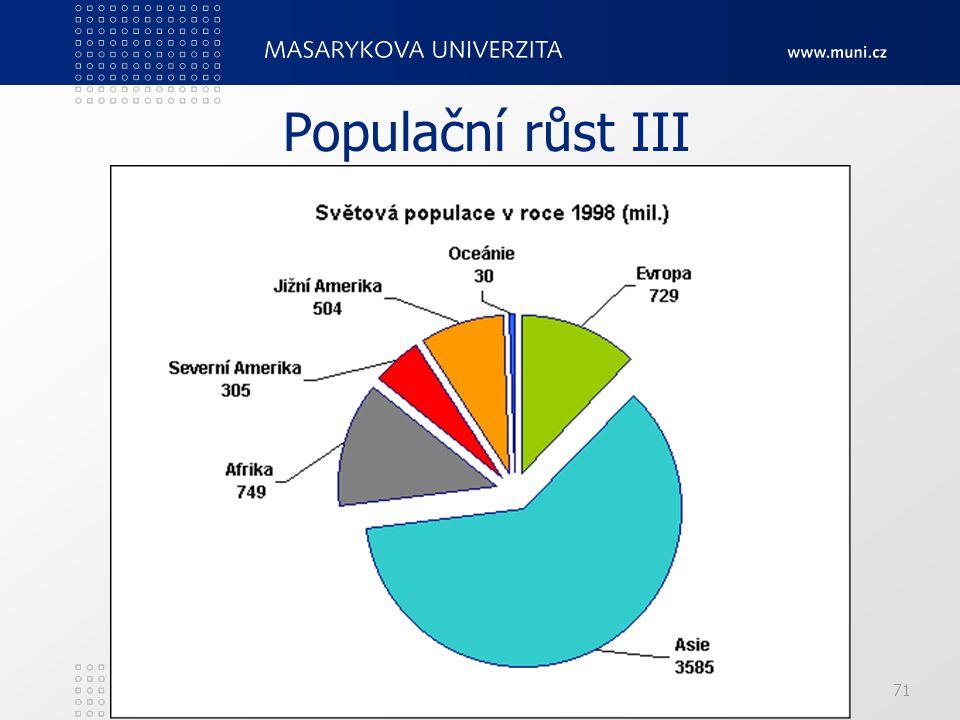 PedF, katedra geografie71 Populační růst III