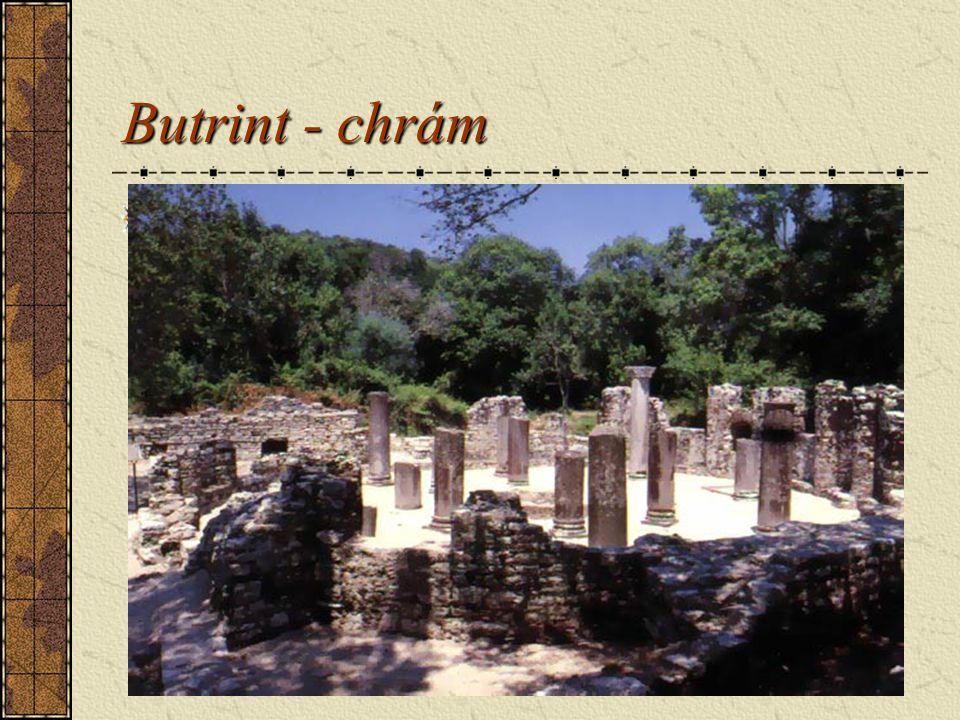 Butrint - chrám