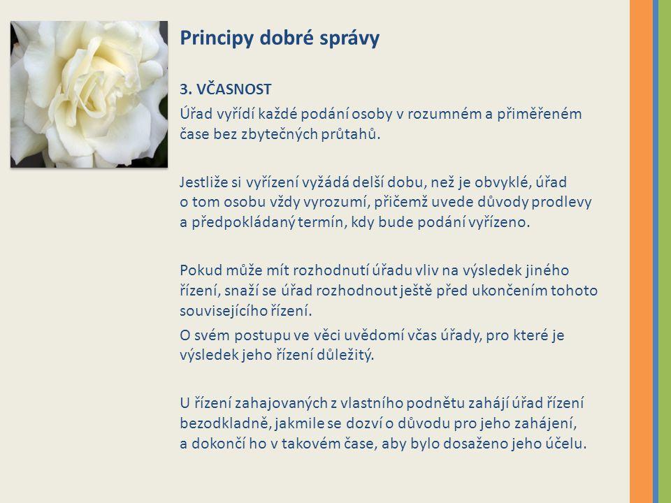 Principy dobré správy 3.