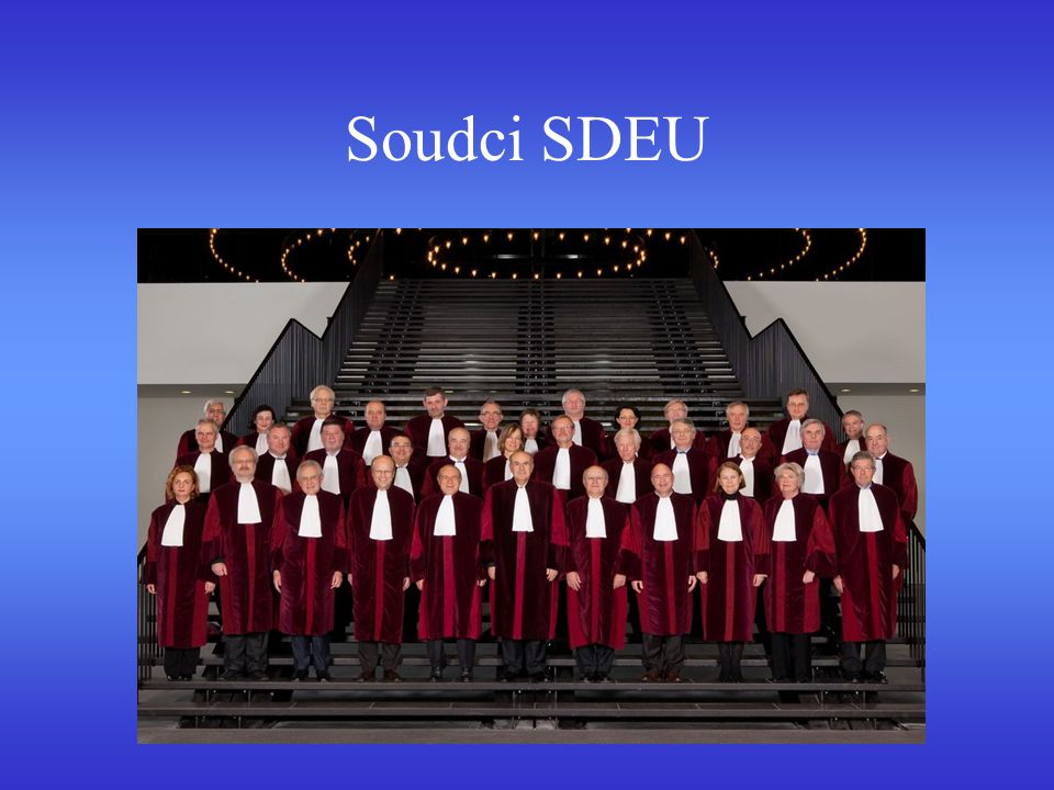 Soudci SDEU