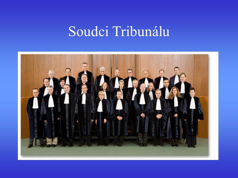 Soudci Tribunálu