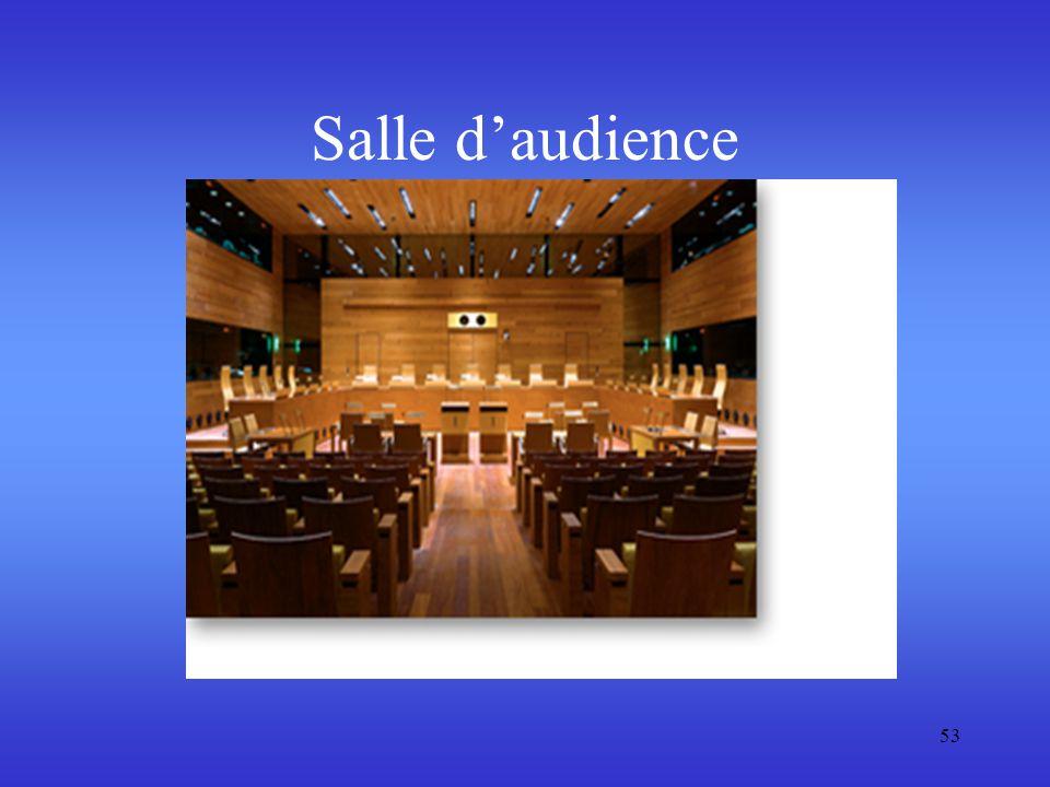 Salle d'audience 53