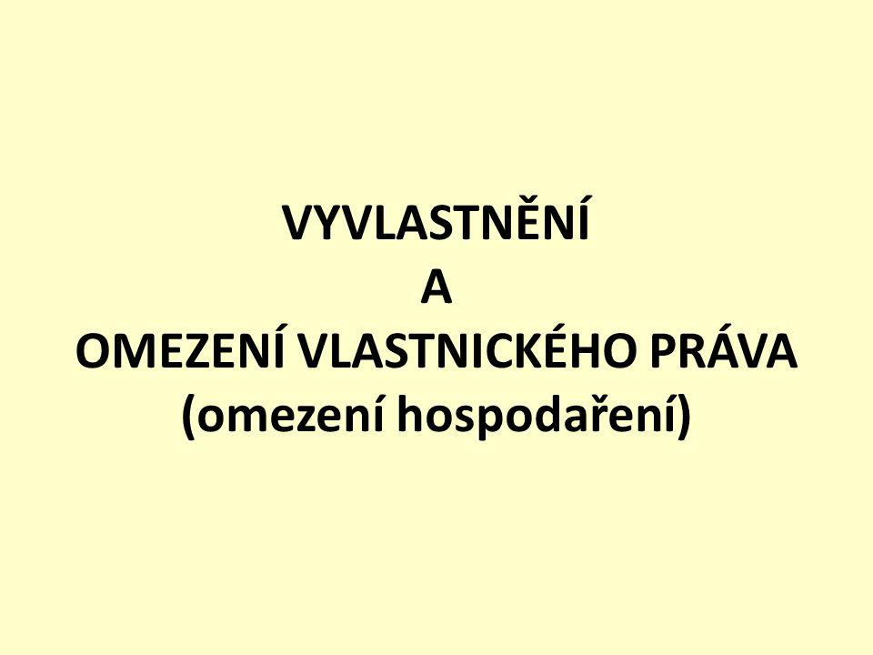 Novela zákona o vyvlastnění-1 Zákonem č.405/2012 Sb.
