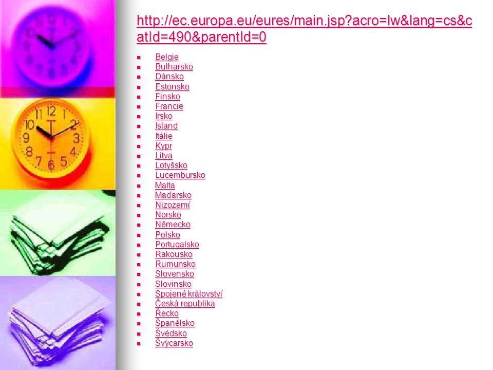 http://ec.europa.eu/eures/main.jsp acro=lw&lang=cs&c atId=490&parentId=0 http://ec.europa.eu/eures/main.jsp acro=lw&lang=cs&c atId=490&parentId=0 Belgie Belgie Belgie Bulharsko Bulharsko Bulharsko Dánsko Dánsko Dánsko Estonsko Estonsko Estonsko Finsko Finsko Finsko Francie Francie Francie Irsko Irsko Irsko Island Island Island Itálie Itálie Itálie Kypr Kypr Kypr Litva Litva Litva Lotyšsko Lotyšsko Lotyšsko Lucembursko Lucembursko Lucembursko Malta Malta Malta Maďarsko Maďarsko Maďarsko Nizozemí Nizozemí Nizozemí Norsko Norsko Norsko Německo Německo Německo Polsko Polsko Polsko Portugalsko Portugalsko Portugalsko Rakousko Rakousko Rakousko Rumunsko Rumunsko Rumunsko Slovensko Slovensko Slovensko Slovinsko Slovinsko Slovinsko Spojené království Spojené království Spojené království Spojené království Česká republika Česká republika Česká republika Česká republika Řecko Řecko Řecko Španělsko Španělsko Španělsko Švédsko Švédsko Švédsko Švýcarsko Švýcarsko Švýcarsko