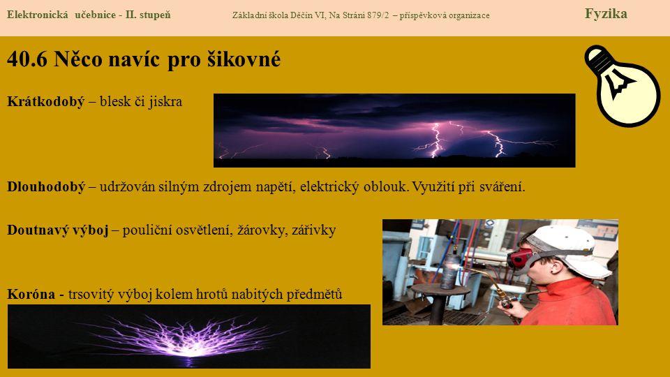40.6 Něco navíc pro šikovné Elektronická učebnice - II.