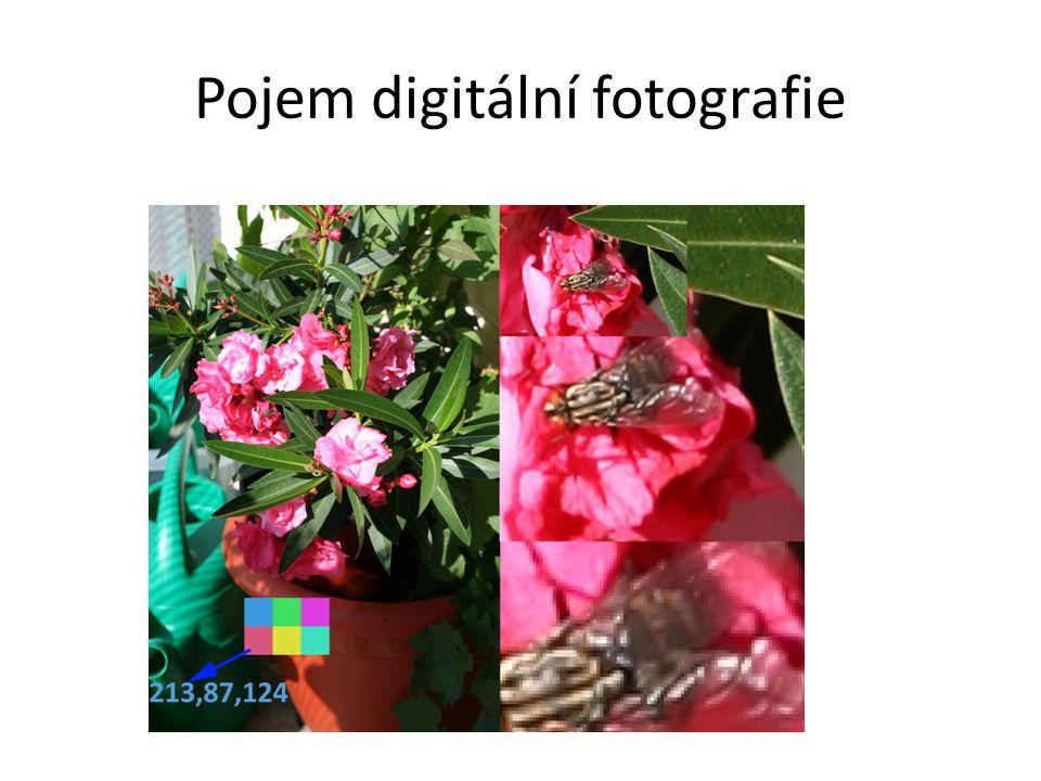 Principy a způsob práce s amatérskou a poloprofesionální digitální zrcadlovku a s kvalitním digitálním kompaktem; charakteristika odlišného použití.