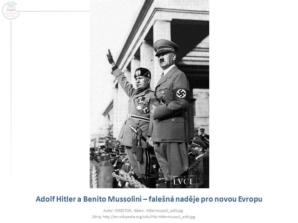 Němečtí vojáci na sjezdu NSDAP v Norimberku 1935 Autor: Oberiko, Název: Reichsparteitag_1935_mod.jpg Zdroj: http://commons.wikimedia.org/wiki/File:Reichsparteitag_1935_mod.jpg