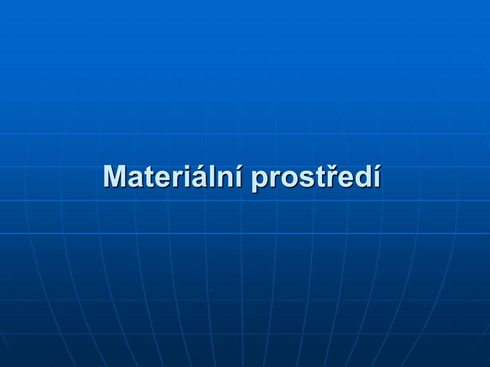 Materiální prostředí