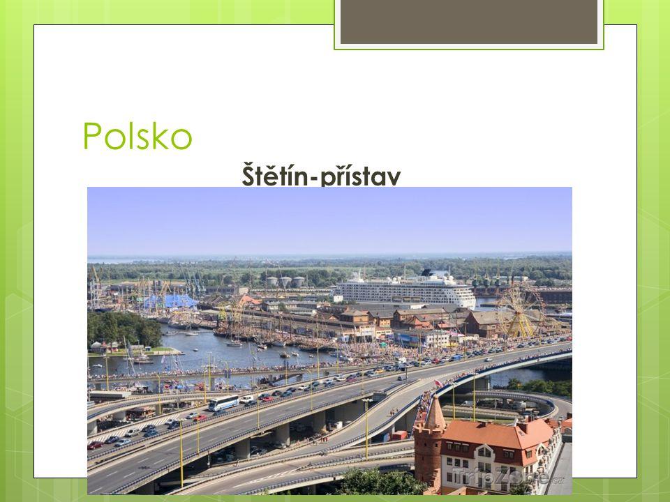 Polsko Štětín-přístav