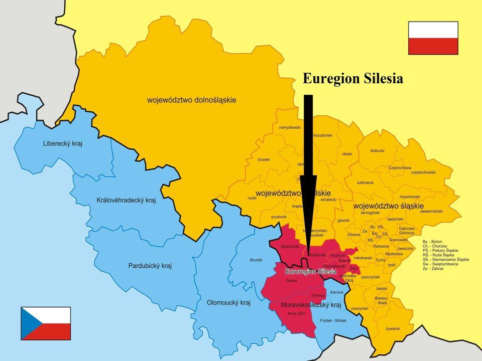 K RNOVSKO A EU Euroregion Silesia Je jedním z nejmladších euroregionů česko- polského příhraničí.