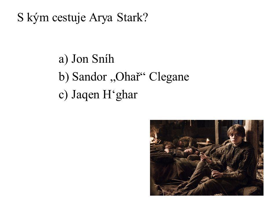 """Kdo je """"Králokat"""" ? a) Ned Stark b) Jaime Lannister c) Joffrey Baratheon"""