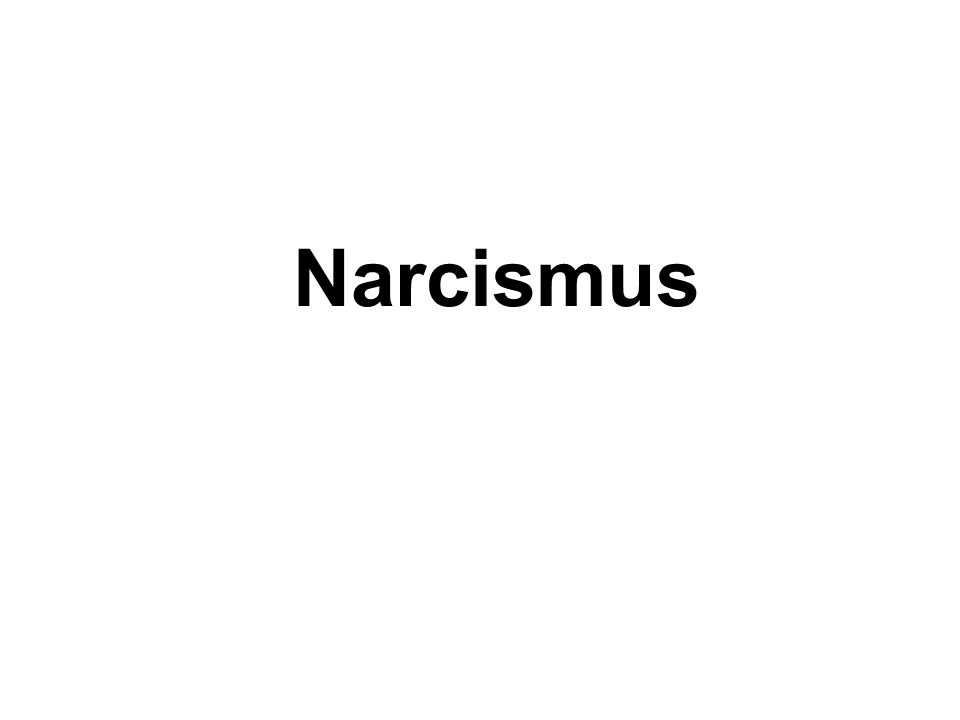 Narcismus