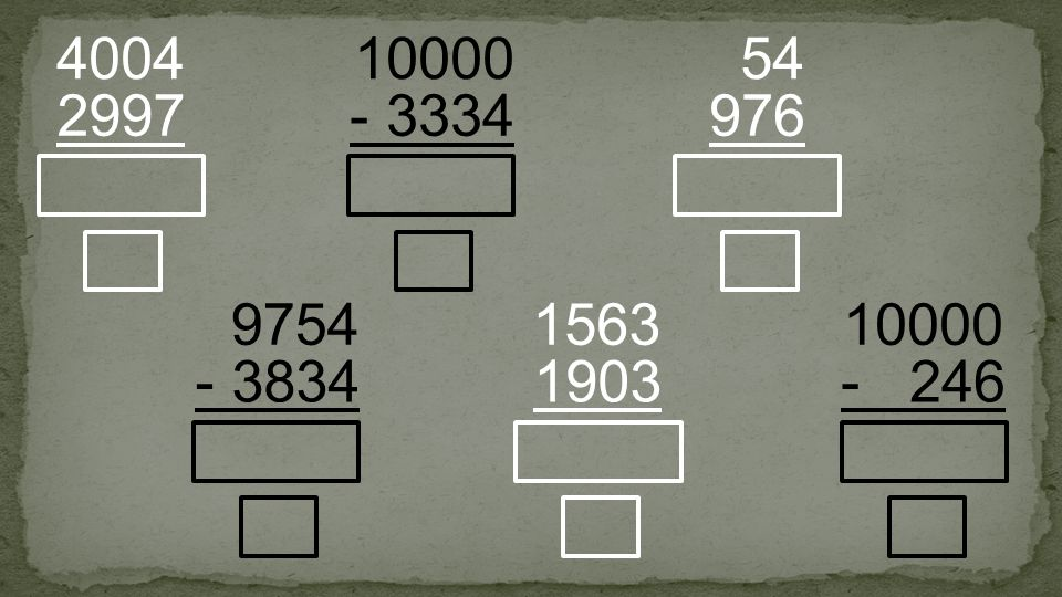 - 3334 10000 2997 4004 976 54 - 3834 9754 1903 1563 - 246 10000