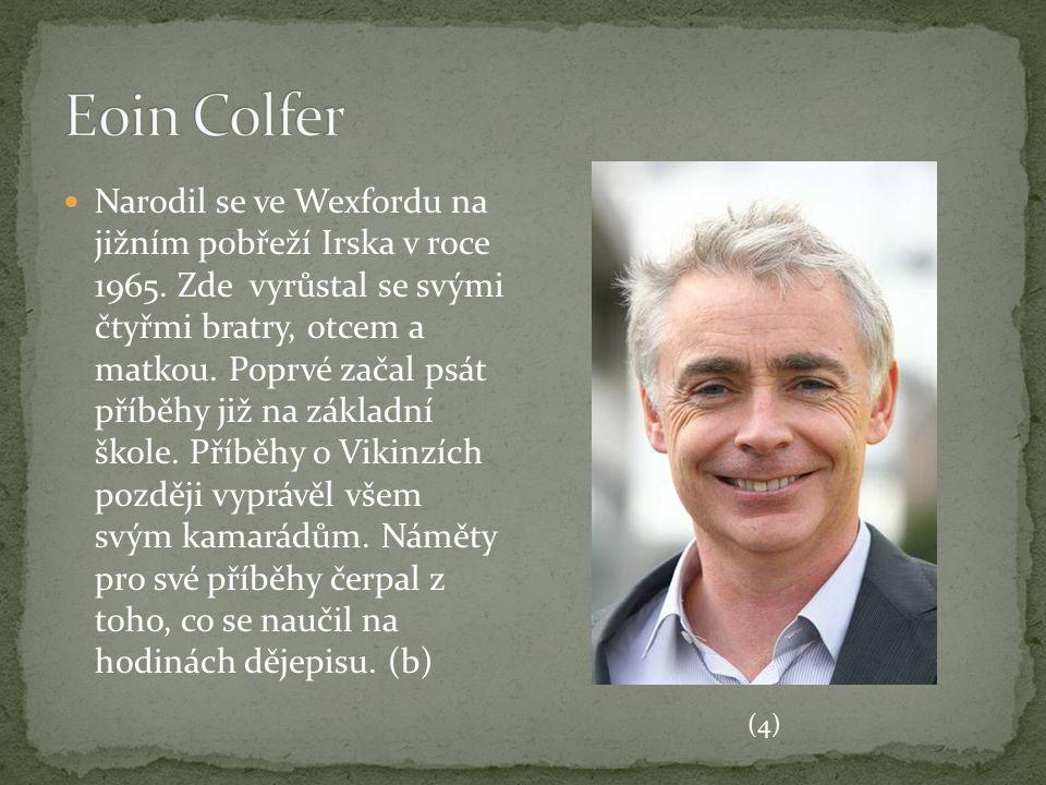 Narodil se ve Wexfordu na jižním pobřeží Irska v roce 1965. Zde vyrůstal se svými čtyřmi bratry, otcem a matkou. Poprvé začal psát příběhy již na zákl
