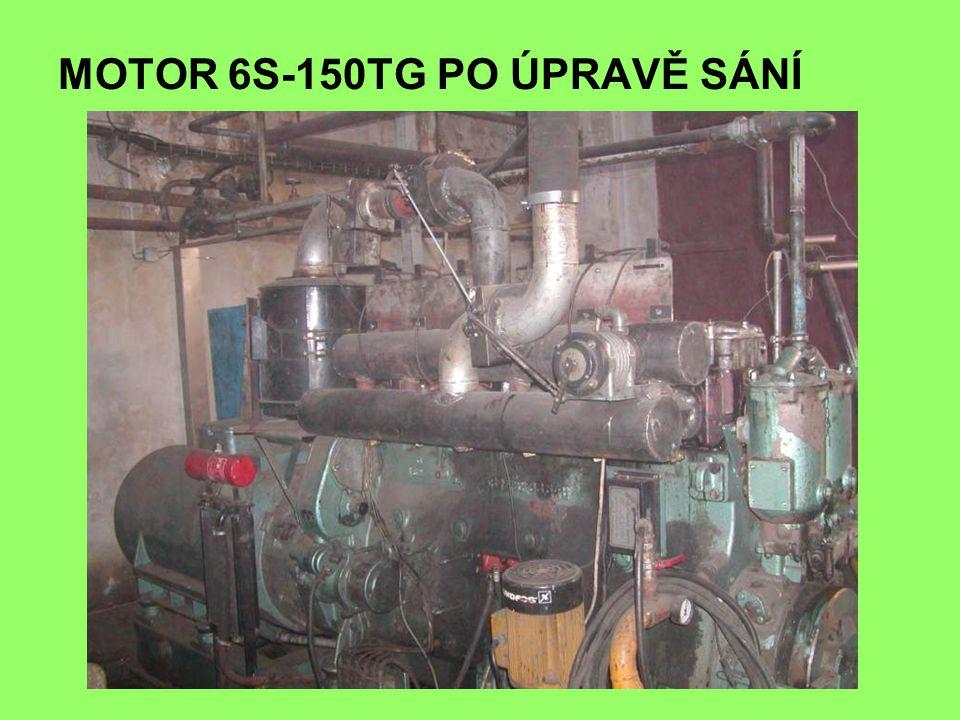 MOTOR 6S-150TG PO ÚPRAVĚ SÁNÍ