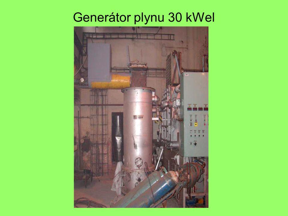 Generátor plynu 30 kWel