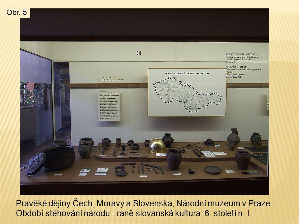 Pravěké dějiny Čech, Moravy a Slovenska, Národní muzeum v Praze.